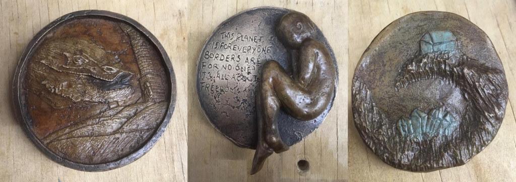 Bild mit freundlicher Genehmigung von Carmarthen School of Art Sculpture Dept, Coleg Sir Gar